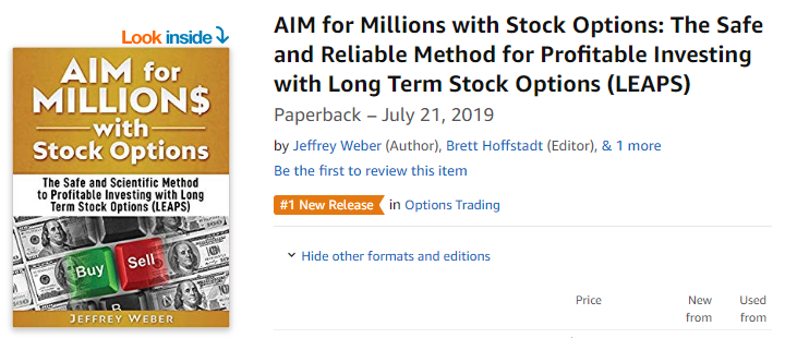 AIM for Millions with Stock Options book